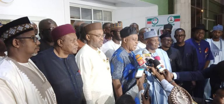 Nigeria is drifting towards a failed state, says PDP governors