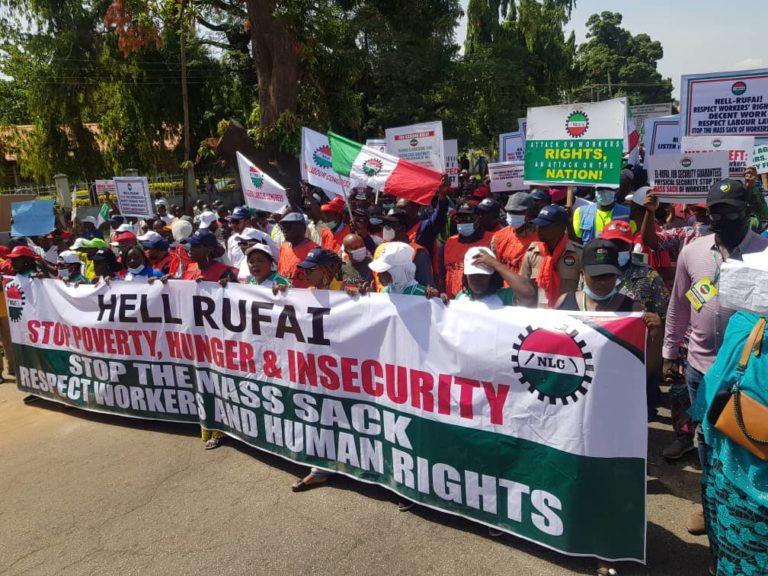 NLC warning strike grounds Kaduna as Wabba chides El-Rufai