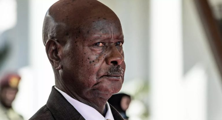Museveni, sworn-in for sixth term of office as President of Uganda
