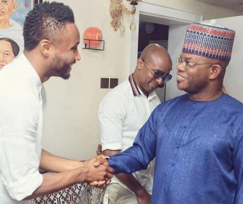 Mikel Obi, former Eagles captain, visits Gov. Yahaya Bello