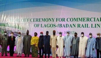 Buhari inaugurates Lagos-Ibadan Railway project